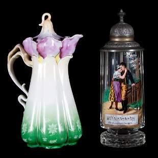 Continental mug and pitcher
