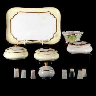 A collection of European porcelain