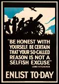 British World War I Poster