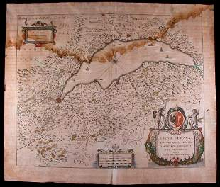 Jan Janszoon JANSSONIUS 16181657 Map