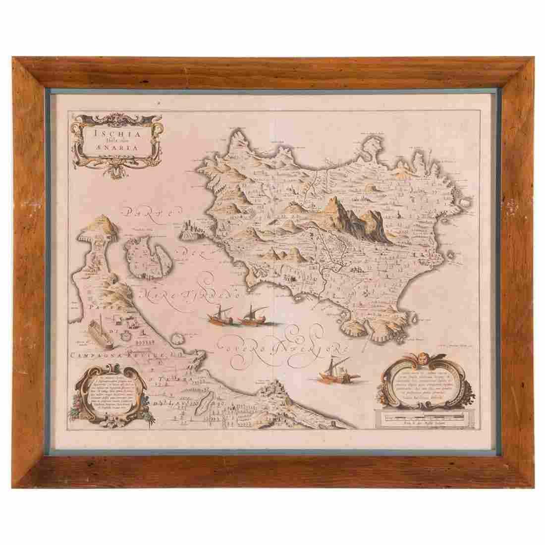 Joan BLAEU (1599-1673) Map