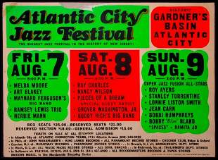 Atlantic City Jazz Festival.