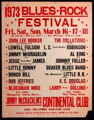 Blues Rock Festival.