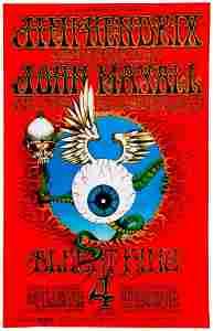 BG-105 Jimi Hendrix poster.