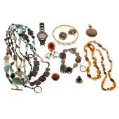 Collection of miscellaneous costume jewelry