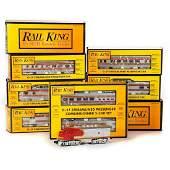 O Gauge MTH Rail King O27 Santa Fe Streamliner F3 AA