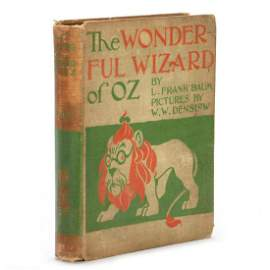 First Edition of the Wonderful Wizard of Oz