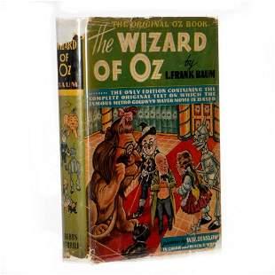 Rare Cast Signed Wizard of Oz 1939 movie edition