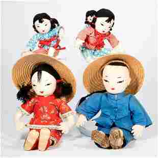 Vintage Chinese Dolls