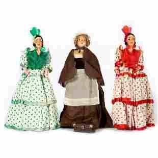 Vintage Cultural Ethnic Dolls