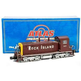 Atlas 61862 O Gauge Rock Island SW1200RS locomotive