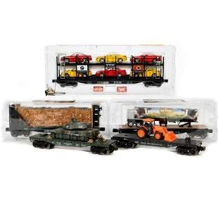Menards 5 O Gauge Freight Cars