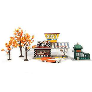 Department 56 Drive In Trees Subway Entrance