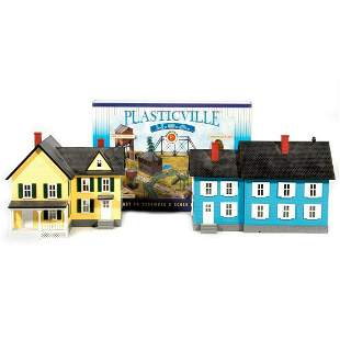MTH and Plasticville O Gauge 3 Buildings
