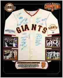 San Francisco Giants 2014 World Series Champions Team