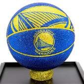 NBA Golden State Warriors Basketball Made with