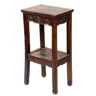 Chinese Hardwood Side Table