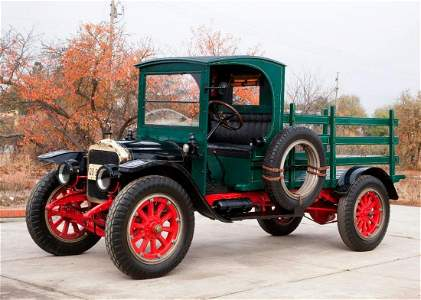 1919 White Model 15, 3/4-Ton Stake Side Truck