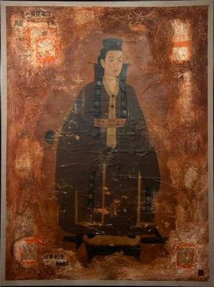 Chinese School (20th Century) Portrait of a Woman