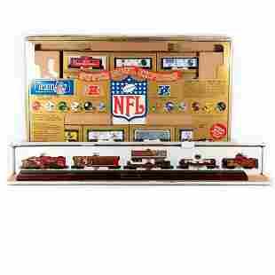HO Scale 49ers Commemorative Set, NFL Super Bowl