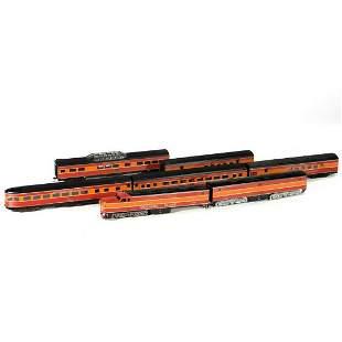 HO train cars