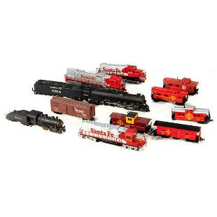 HO Scale train cars