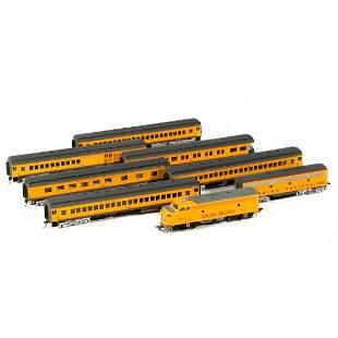 Bachmann UP train cars