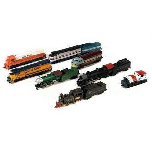 HO Scale - (5) Diesel Locomotives, (3) Steam