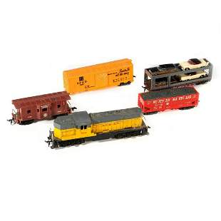 Marx train cars