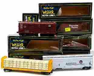 O Gauge Weaver (7) Freight Cars