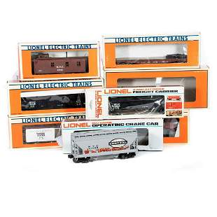 O Gauge (8) Lionel NYC Freight Cars