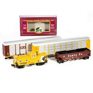 MTH (4) O Gauge Freight Cars