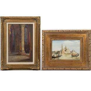 19th Century Decorative Oil Paintings