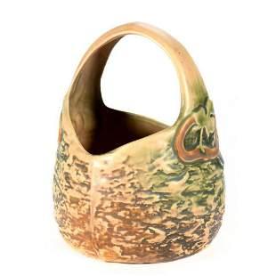 Arts & Crafts Pottery Basket