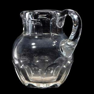 Baccarat Glass Pitcher