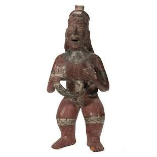 Pre-Columbian Figure of a Woman