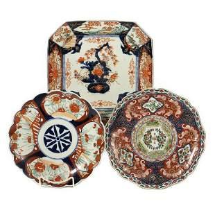 Antique Japanese Imari Plates
