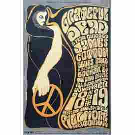 Grateful Dead/James Cotton/Lothar Concert Poster