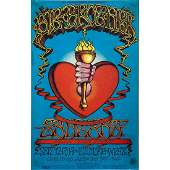 Big Brother/Santana/Chicago Concert Poster