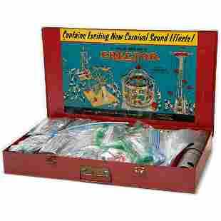 Gilbert No 10083 Erector Set builds Merry Go Round with
