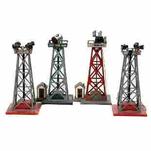 American Flyer S Gauge Towers 774, 774, 774, 769A