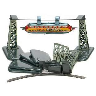 T.N. Japanese Tin Monorail