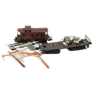 Lionel Diesel Chassis, 6017 Caboose, Tell Tail Track