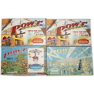 Kelmar Pow'r House Construction Kits (competed with