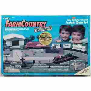 Ertl S Gauge Farm Country Railroad