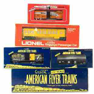 AF by Lionel TTOS Convention & Gilbert 60th Annv Cars