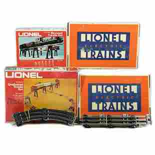 Lionel O Gauge Switches, Track and Trestles