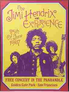 (2) Dennis Loren-/The Jimi Hendrix Experience Concert