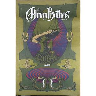 The Allman Brothers Dreams Promotional Poster