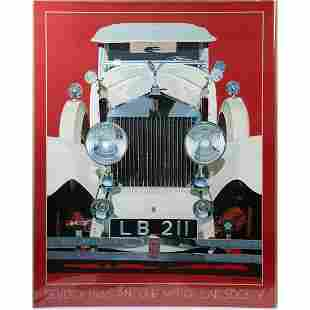 Harold James Cleworth/Two Automobile Posters